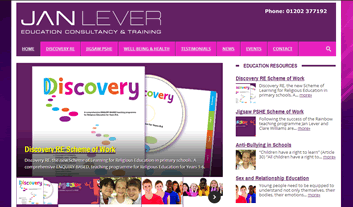 janlever website image