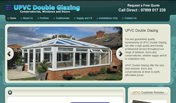 upvc double glazing website hompage image